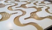 Мебельные 3Д фасады из МДФ (пленка ПВХ,  краска)